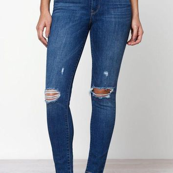 LMFON Levi's 721 High Rise Skinny Ankle Jeans