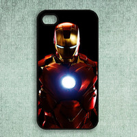 Iron Man iPhone 4 / 4S Case iPhone 4/4S Cover iPhone Hard Plastic Case iPhone Soft Rubber Case iPhone Protective Sleeve iPhone Shell