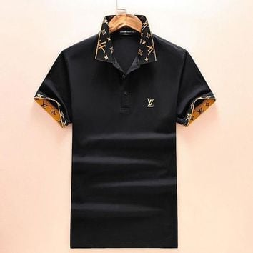 Louis Vuitton Men T-Shirt Top Tee-1