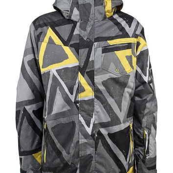 Quiksilver Men's 10k Mission Snowboarding Jacket
