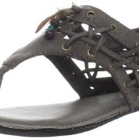 Big Buddha Women's Peek Thong Sandal