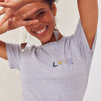 Kim Bruckbauer + UO Love Crew-Neck Tee | Urban Outfitters