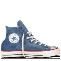 Converse - Chuck Taylor Washed Canvas - Hi - Stellar Blue