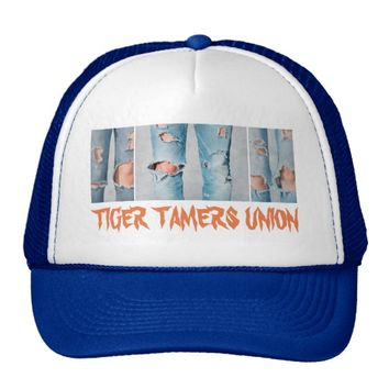 Tiger Tamers Union Customizable Trucker Hat