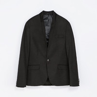 BLAZER WITH DETAILED COLLAR