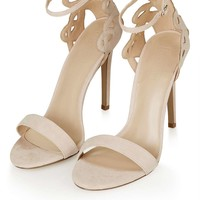 MINDY Two-Part Swirly Heels - Topshop