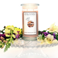 Smoky Mountains Cabin Ring Candle