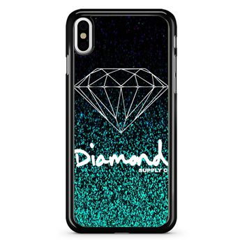 Diamond Supply Co Glitter iPhone X Case