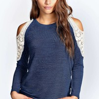 Charlie Crochet Shoulder Jumper
