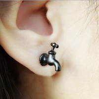 Fashion Tap 3D Ear Stud (Single)