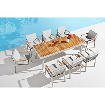 Outdoor Dining Set (8 Chairs) | Higold Nofi