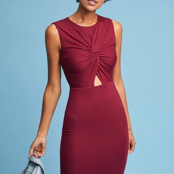 Knotted Cutout Dress