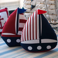 Mediterranean Sea Style Cushion Home Decor [6282290182]