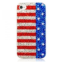 Handmade Bling Sparkle Crystal iPhone4/4s Case-piano