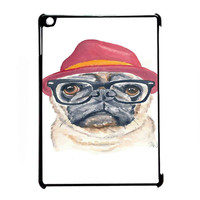 Cute Turquoise Pug Animal Illstration for iPad Air CASE *RA*