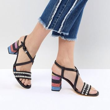 PS by Paul Smith Raffia Heel Sandal at asos.com