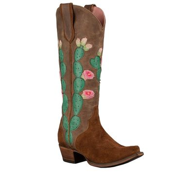 Lane Women's Junk Gypsy by Hard To Handle Western Boot Snip Toe - Jg0012a