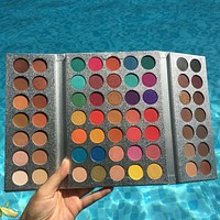 Beauty Glazed Makeup Gorgeous Me Eyeshadow Palette 63 Color Make up Palette Charming Eyeshadow Pigmented Eye Shadow Powder
