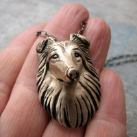 Shetland sheepdog sheltie collie necklace