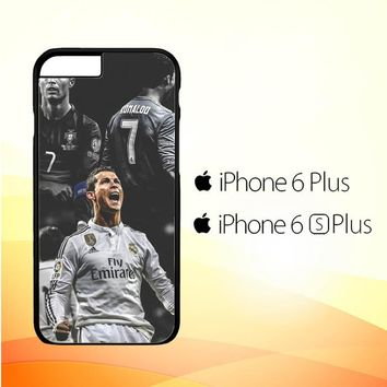 Cristiano Ronaldo Real Madrid L2113 iPhone 6 Plus|6S Plus Case