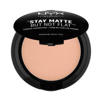 NYX Stay Matte But Not Flat Powder Foundation - Medium - #SMP18