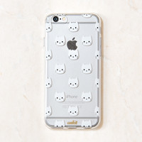 Clear/White Kitty iPhone 6