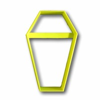 Coffin Outline Cookie Cutter