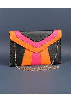 COLORBLOCK ENVELOPE CLUTCH PURSE @ KiwiLook fashion