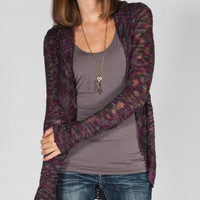 Element Evie Womens Coccoon Sweater Plum  In Sizes