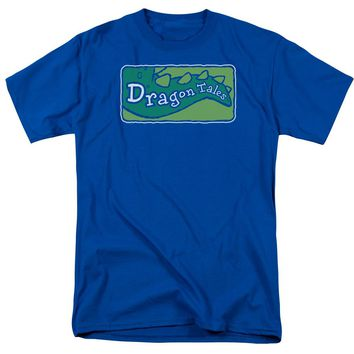 Dragon Tales - Logo Clean Short Sleeve Adult 18/1