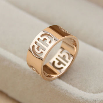 mens womens hollow out ring gift-132
