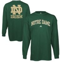 adidas Notre Dame Fighting Irish Relentless T-Shirt - Green -