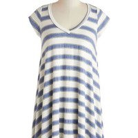 Lounging Singer Tunic in Blue