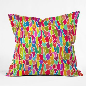 Sharon Turner Tickle Me Throw Pillow
