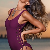 Grommet tank one piece from VENUS Swimsuit Selection