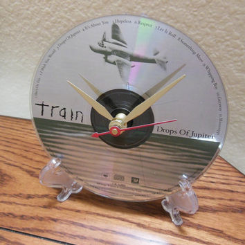 TRAIN CD Desk Clock (Drops Of Jupiter) - Stand Included