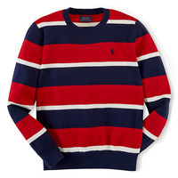 Ralph Lauren Childrenswear Boys 8-20 Crewneck Sweater