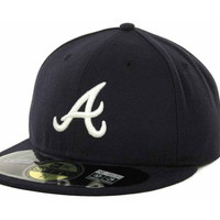 Atlanta Braves MLB Authentic Collection 59FIFTY Cap