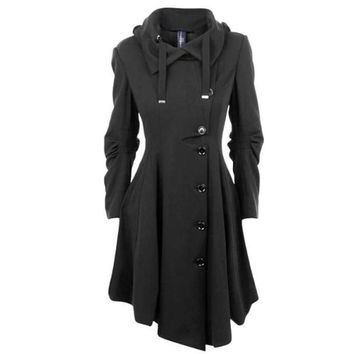 Women's Cashmere Trench Coat