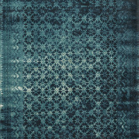 "Journey indigo / Blue 2'4"" X 7'9"" Rug"