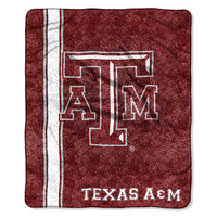 Texas A&M Aggies NCAA Sherpa Throw (Jersey Series) (50in x 60in)