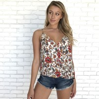 Always Welcome Floral Tank Top
