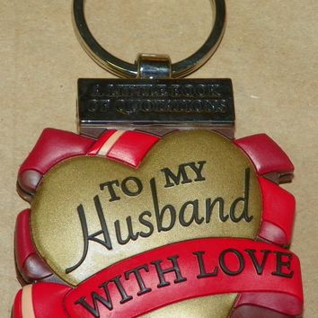 Keyring Little Book of Quotations-Husband