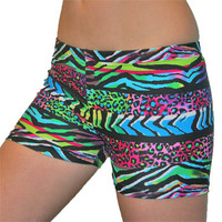 Wild Africa Volleyball Spandex Shorts