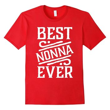 Best Nonna Ever T-shirt Grandma Mothers Day Tee