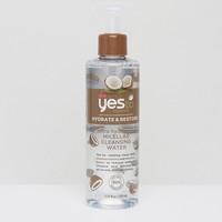 Yes To Coconut Hydrating Micellar Cleansing Water - 230ml at asos.com