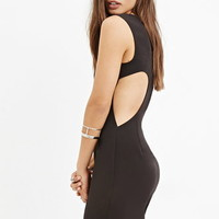 Cutout-Back Sheath Dress