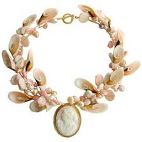 shell cameo necklace - Google Search