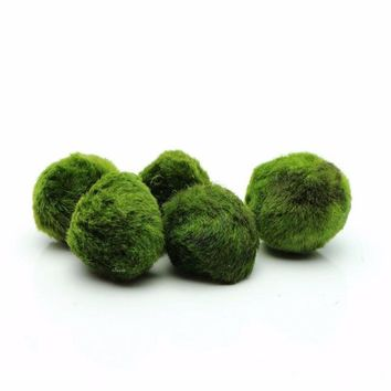 Marimo Moss Balls Aquarium Algae Plant Ornaments Pet Fish Shrimp Tank Decoration Decor