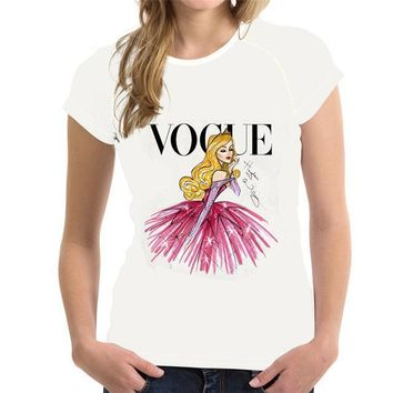 White Vogue T-Shirt